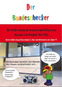 Brunnenchecker, Heft 2 in 2014/2015